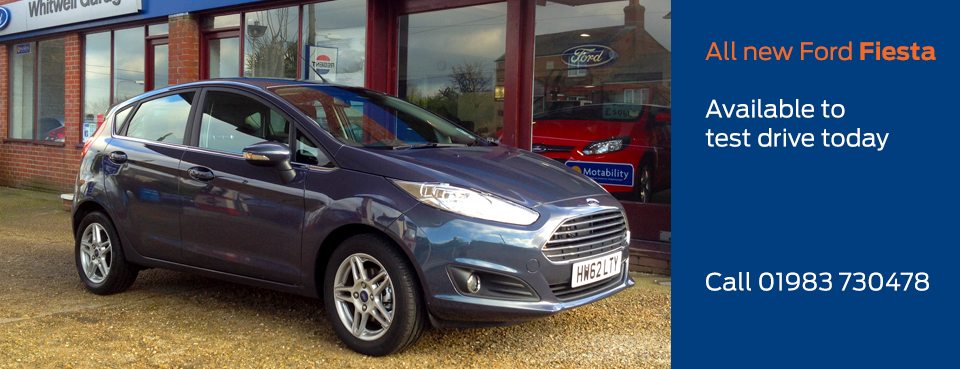 Test drive the all new Ford Fiesta today